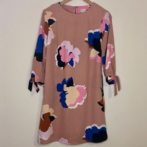 A New Day Pink Floral Dress Small